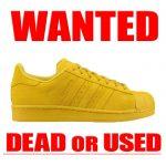 SUPRE STAR YELLOW adicolor adidas買取情報